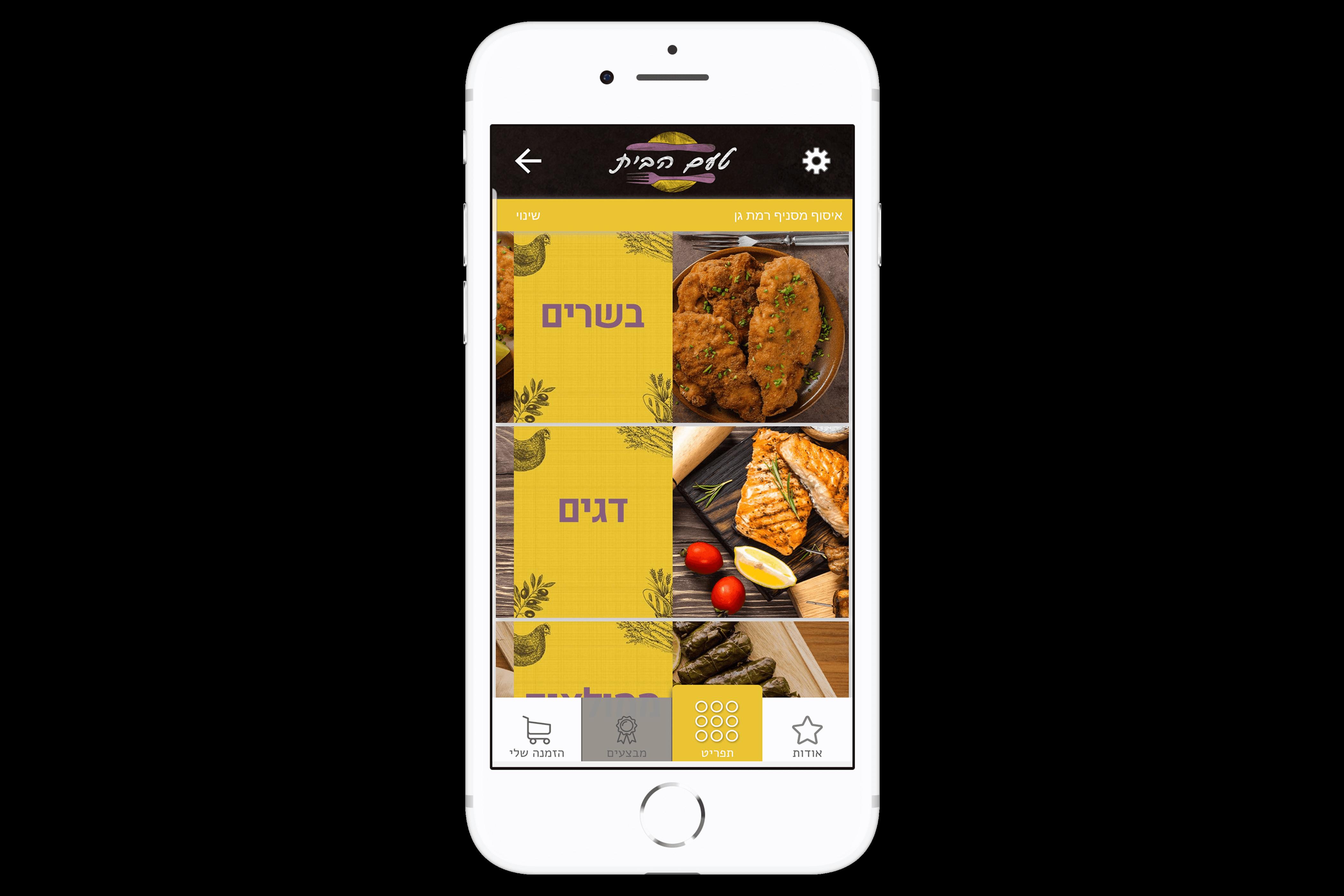 אפליקציית הזמנות של טעם הביתמבין הלקוחות שלנו