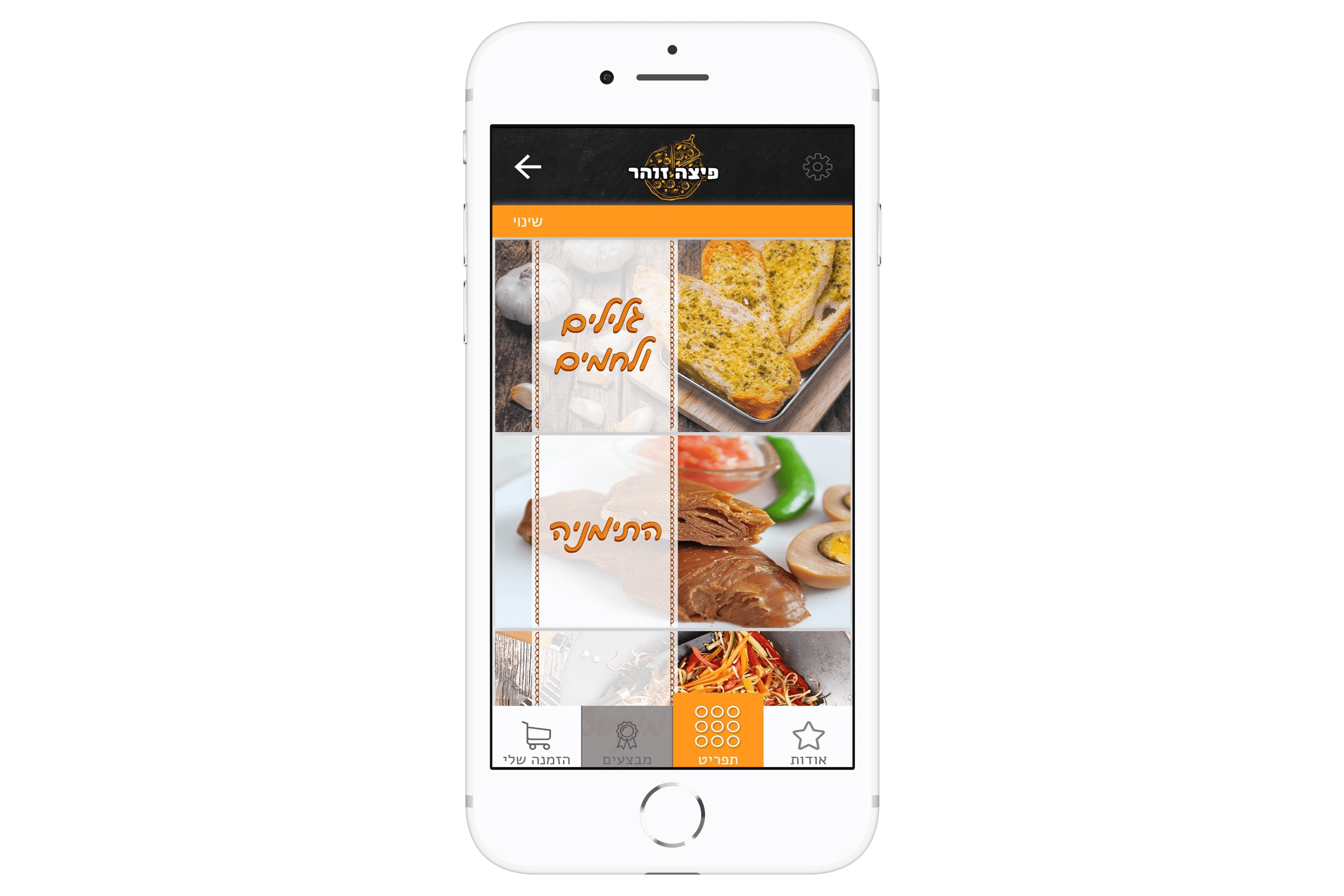אפליקציית הזמנות של פיצה זוהר מבין הלקוחות שלנו