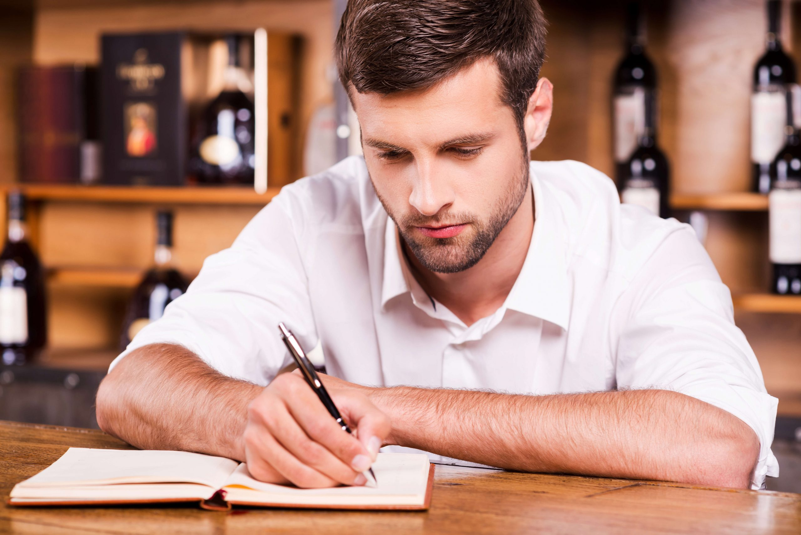 כותב תפריט